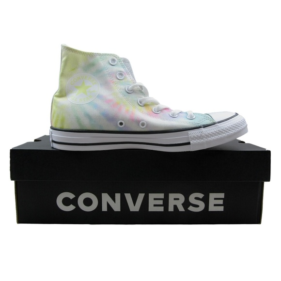 Converse Chuck Taylor All Star Hi Tie Dye Sneakers NWT